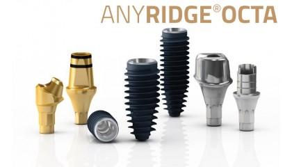 AnyRidge OCTA Implant System & Prothetik